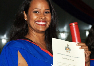 Student with Graduation Certificate